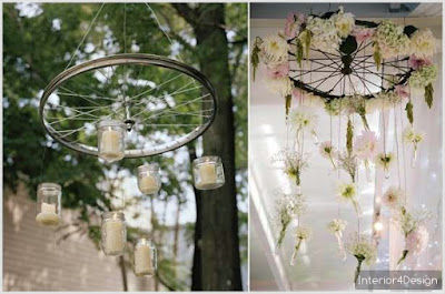 DIY 5 Incredible Ideas to Repurpose Bicycle Wheels 5