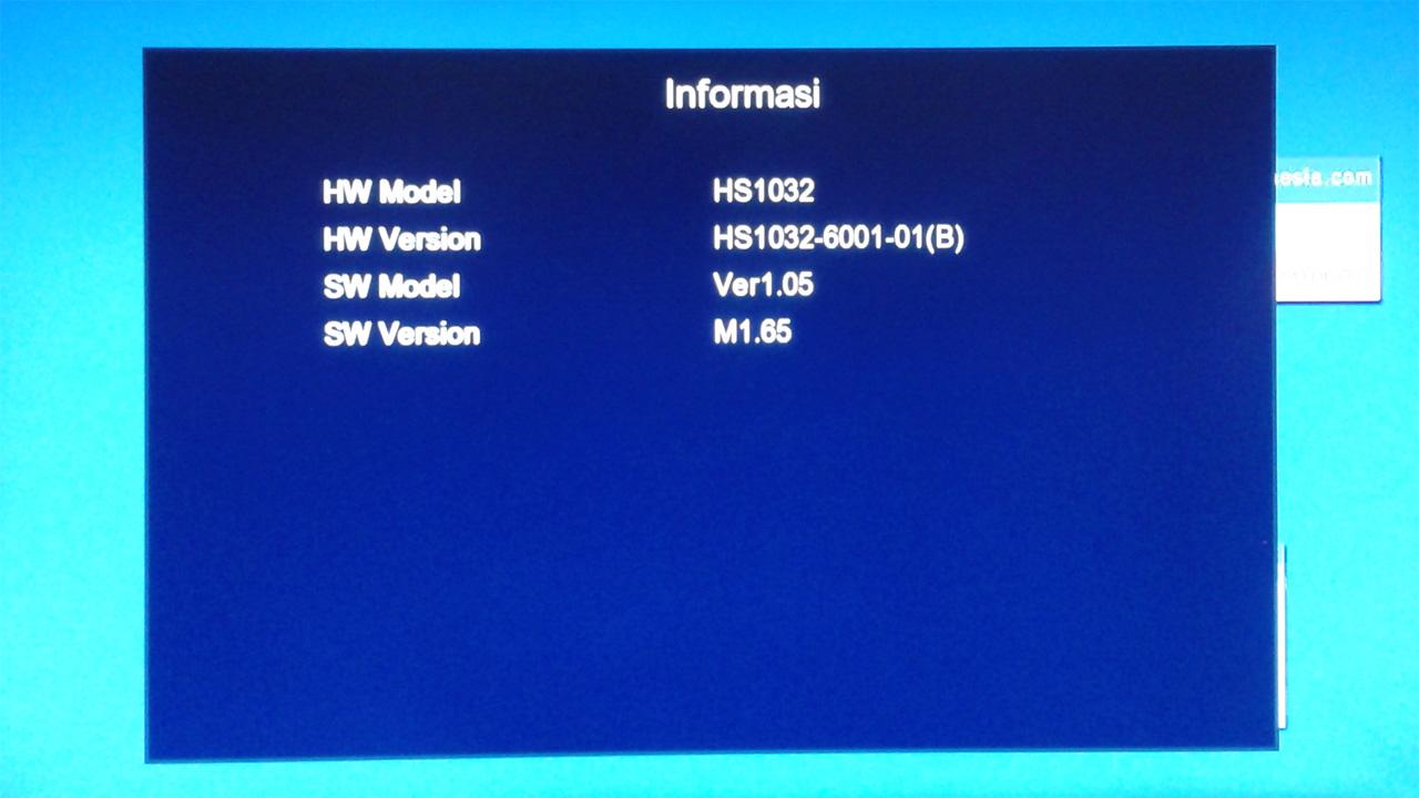 Update Software Skybox A1 Terbaru M1.65 dari M1.45