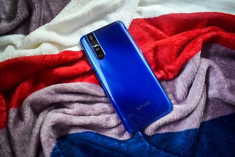 Vivo V15 Pro Topaz Blue Color Variant