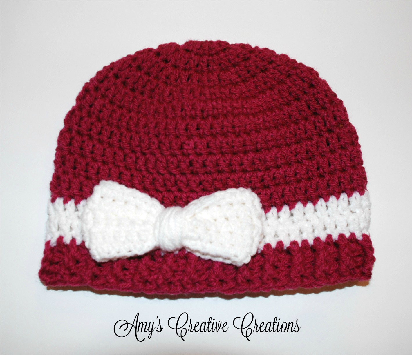 Amys crochet creative creations crochet bow beanie hat tutorial i made this cute bow beanie hat for my 9 year old daughter so i used an i hook and medium worsted yarn i created a video explaining how to crochet the baditri Gallery