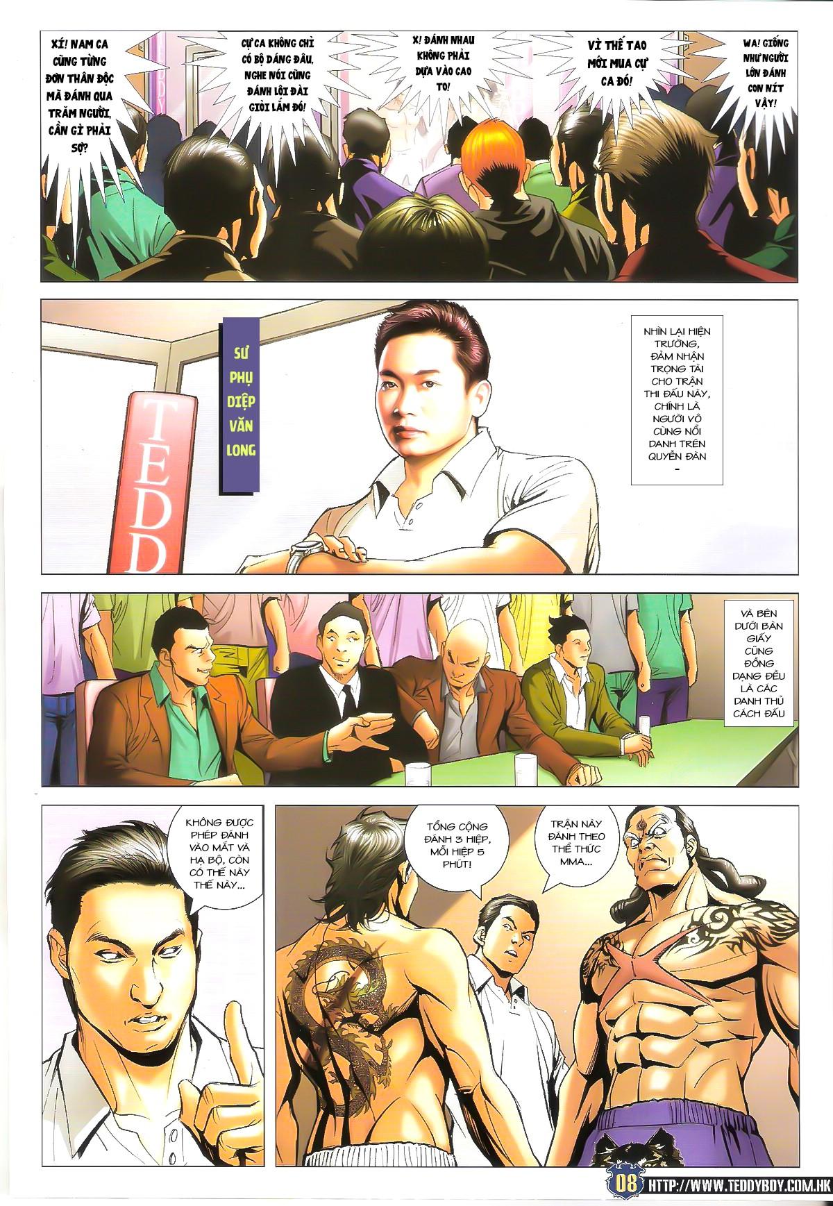 Người Trong Giang Hồ chapter 1625: đấu quyền ngầm ii trang 6