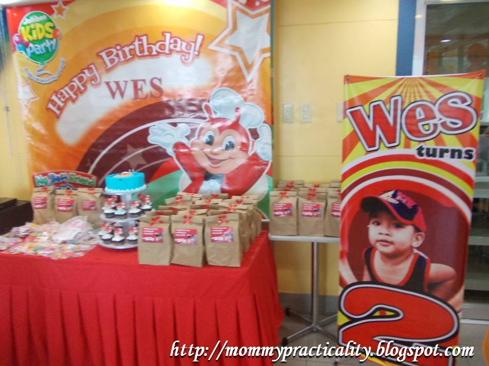 Jollibee Birthay Party Packages