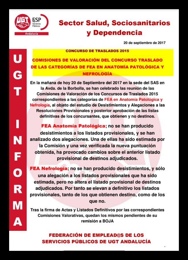 UGT Distrito Sanitario Málaga Guadalhorce: COMISIÓN VALORACIÓN ...