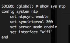 Ken Felix Security Blog: The NTP server for ipv6 v5 2 3 FortiOS