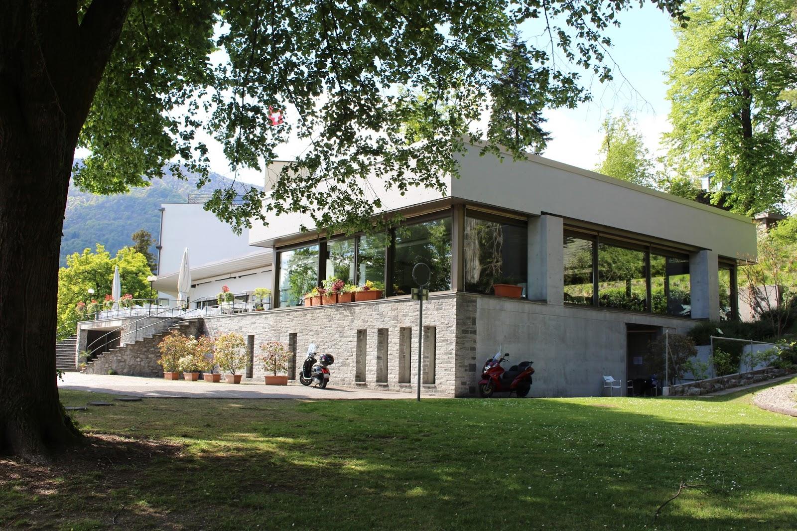 Hotel Monte Veritá, Tessiner Bauhaus Architektur