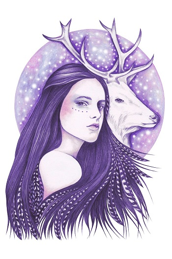 """Deer Spirit"" by Andrea Hrnjak 