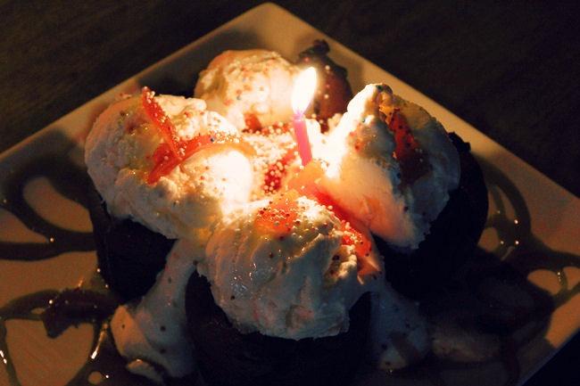 Pyrgos Mantania hotel cake