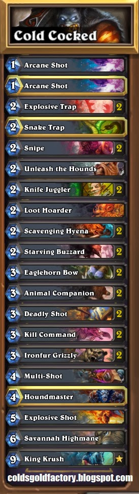 Cold's Hunter Control Deck