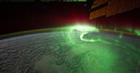 Amazing Northern Lights Aurora Borealis Over Norway