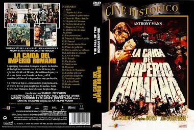 Carátula - La caída del imperio romano - Anthony Mann