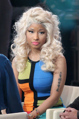 f2ca14d6a Perfection Tattoos: Nicki Minaj Tattoos