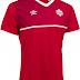 Umbro lança novas camisas da seleção do Canadá
