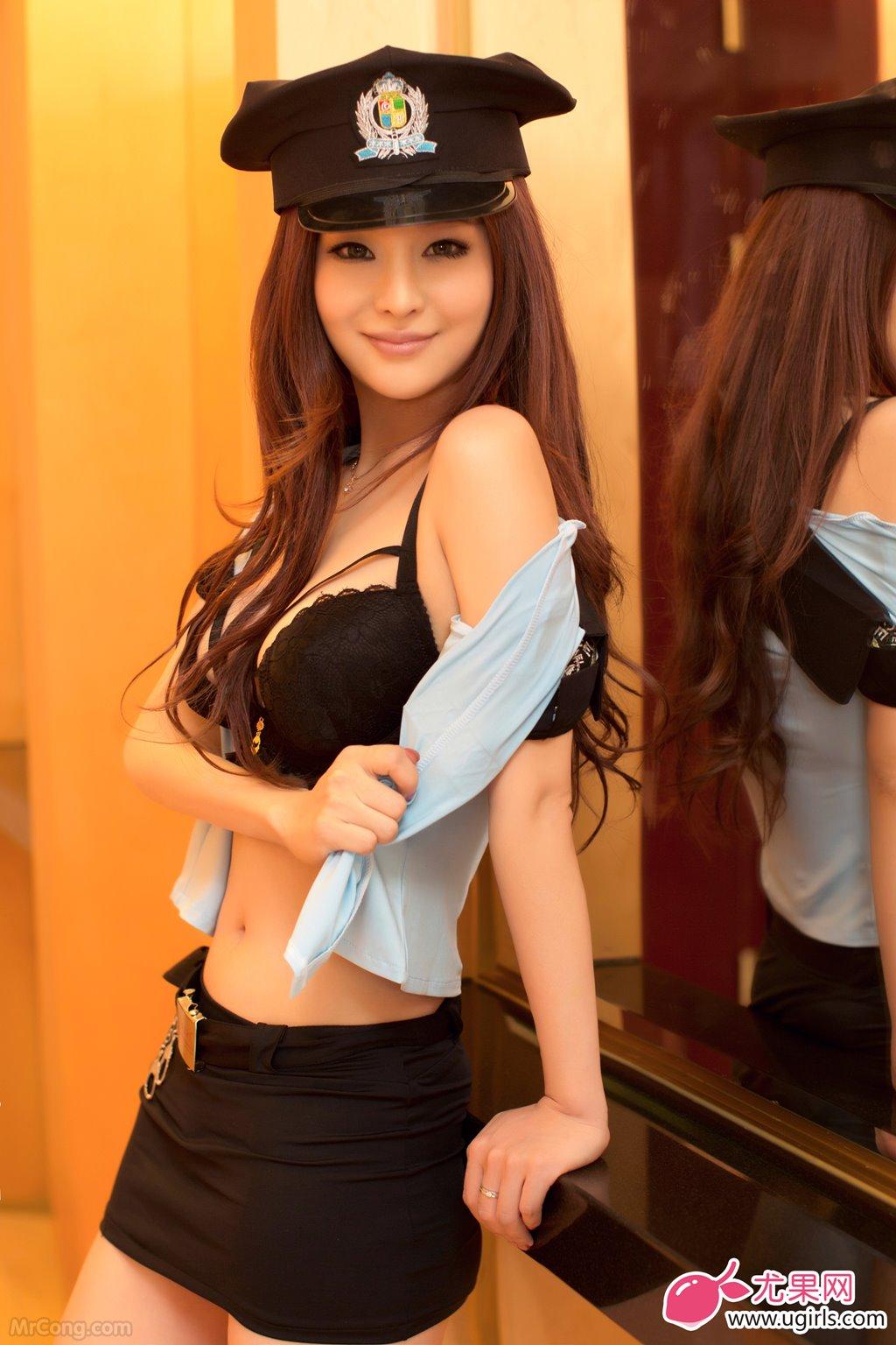 Image MrCong.com-UGIRLS-015-Chun-Xiao-Xi-005 in post Người đẹp Chun Xiao Xi (纯小希) siêu nóng bỏng trong bộ ảnh UGIRLS 015