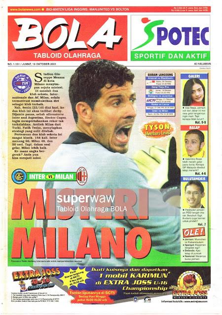 INTER VS MILAN MISTERI MILANO