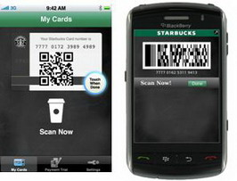 Starbucks debuts mobile payment for BlackBerry and iOS