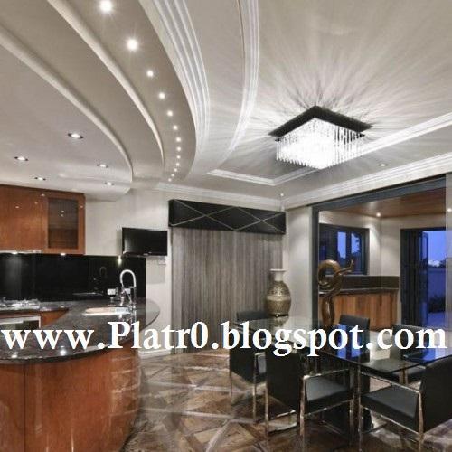 decoration platre plafond salon. Black Bedroom Furniture Sets. Home Design Ideas