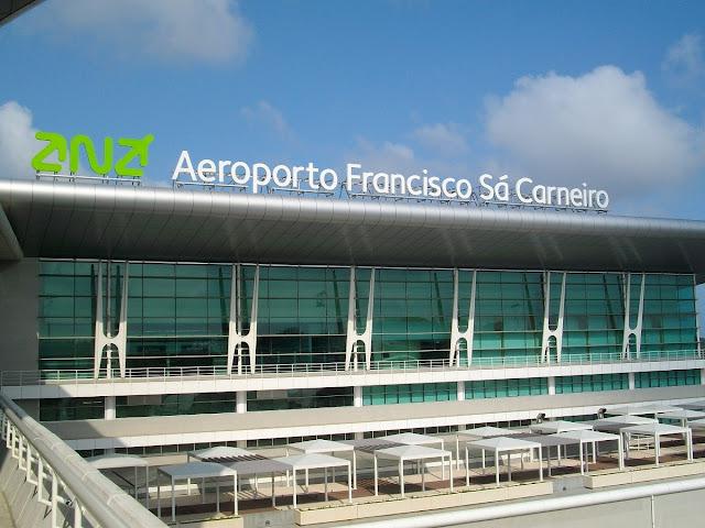 Aluguel de carro no aeroporto do Porto