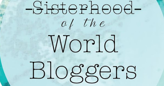PREMIO SISTERHOODD OF THE WORLD BLOGGERS