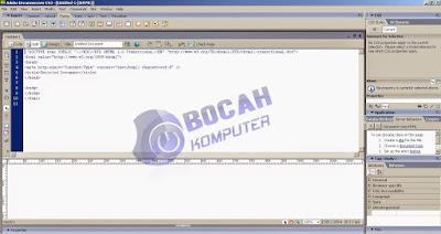 Adobe Dream Weaver CS3 - Bocah Komputer