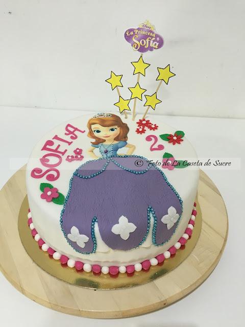 tarta princesa Sofia