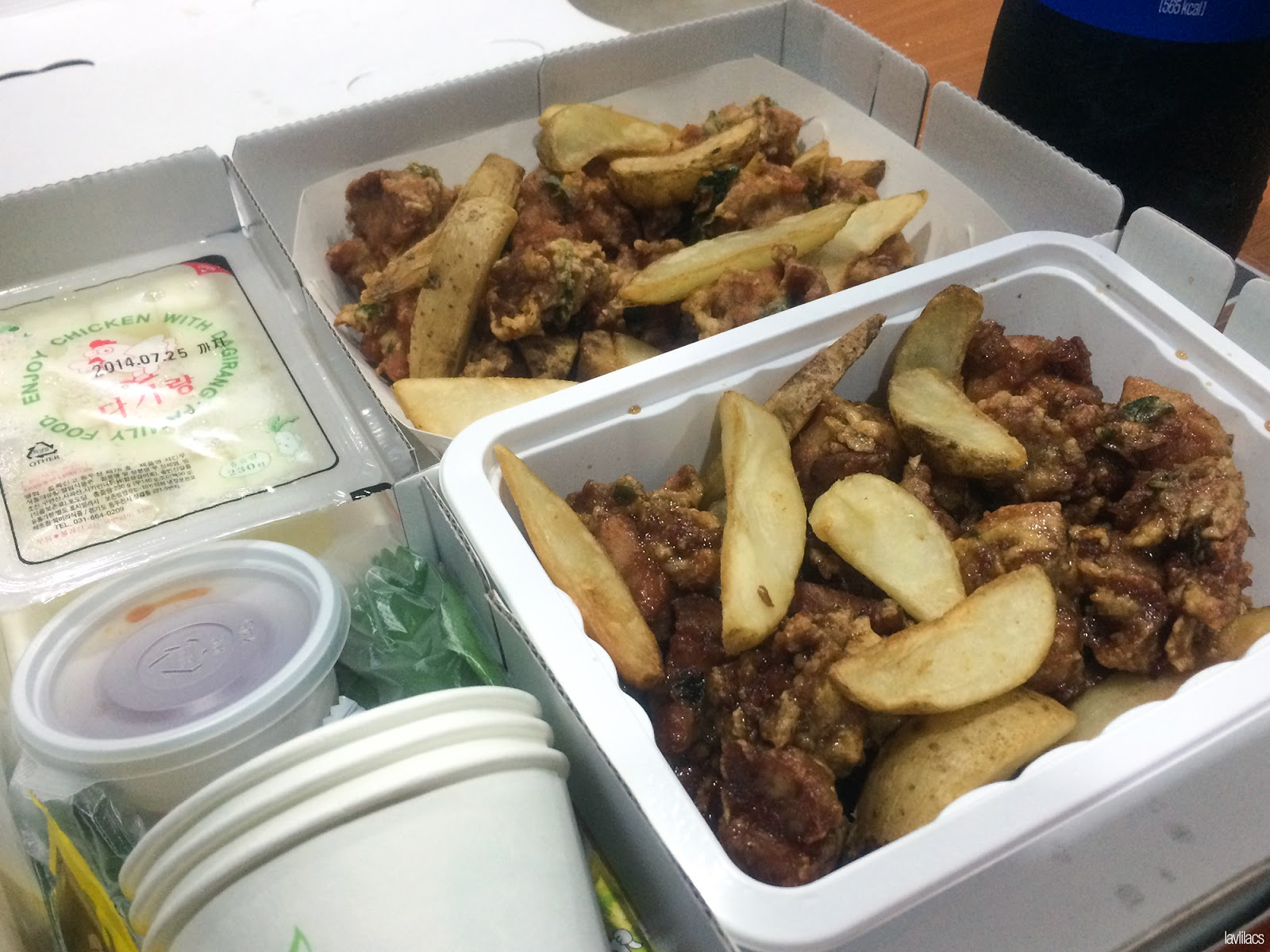 Seoul, Korea - Summer Study Abroad 2014 - Delivery fried chicken
