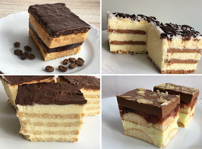 Ciasta bez pieczenia z kremem na deser