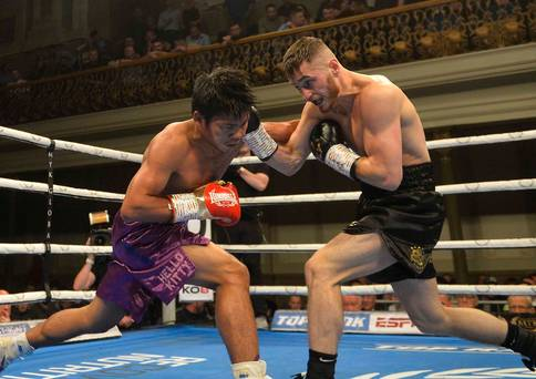 Ryan Burnett Returns, KOs Jelbirt Gomera In Six Rounds