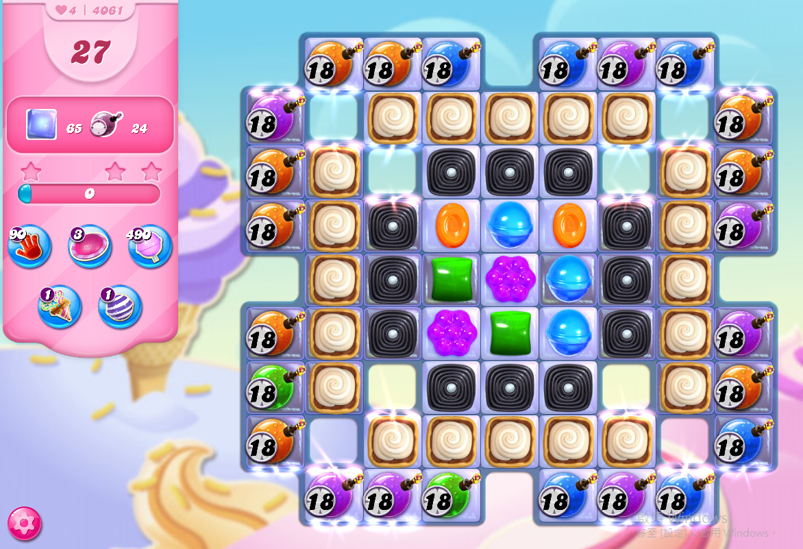Candy Crush Saga level 4061