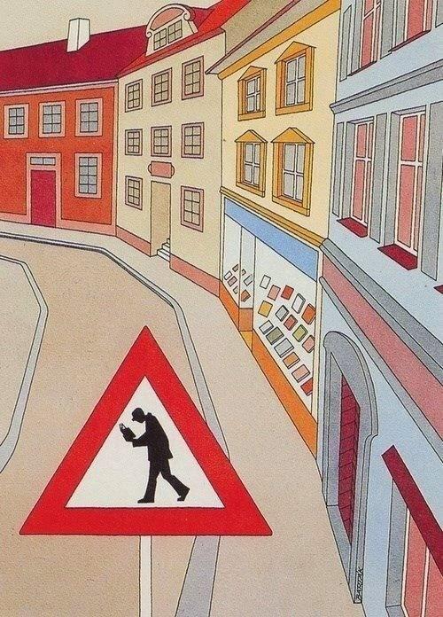 Meme de humor sobre lectores y señales de tráfico