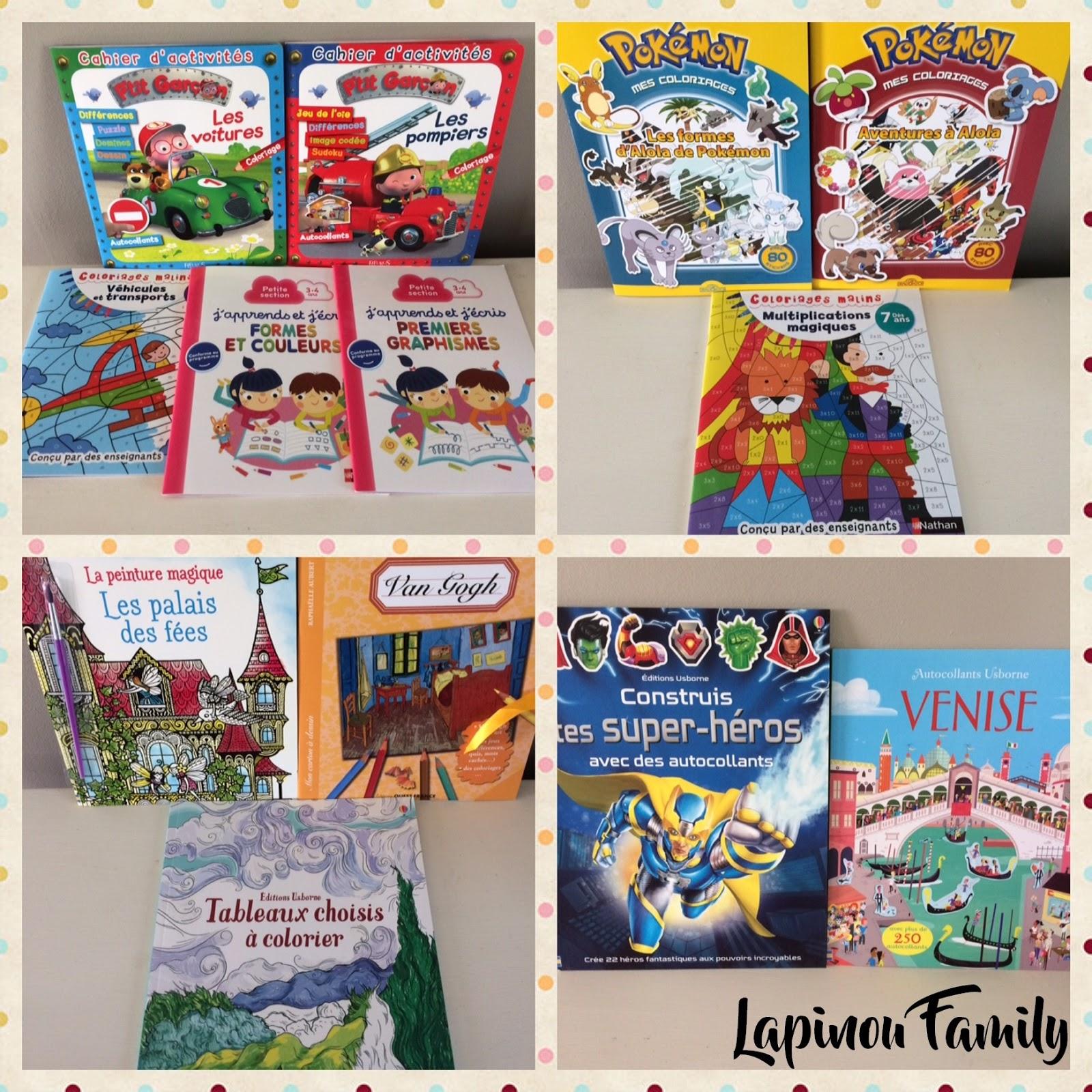 Extrem Livres et cahiers d'activités. #1 - Lapinou Family VN88