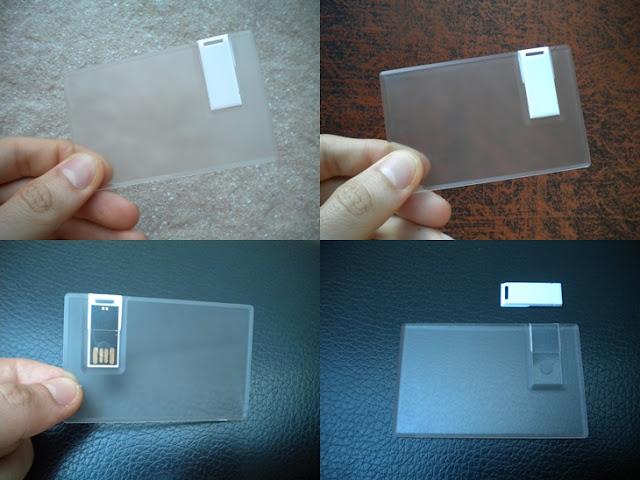Jual Usb Flashdisk Kartu Transparan - FDCD11