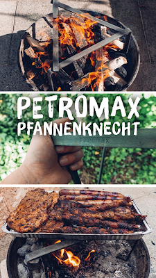Gear of the Week #GOTW KW 16 | Petromax-Pfannenknecht | Outdoor-Kitchen | Unterstützung für Pfannen und Dutch Oven im Lagerfeuer.