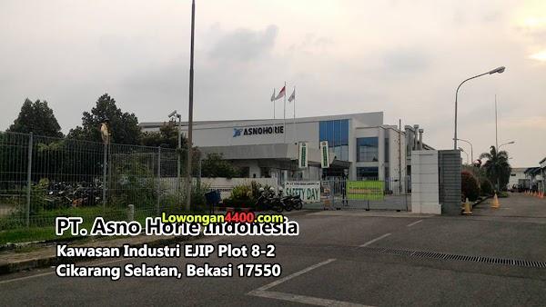 Lowongan PT Asno Horie Indonesia Kawasan EJIP Info Loker 2019