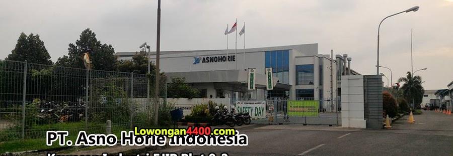 Lowongan PT Asno Horie Indonesia Kawasan EJIP Info Loker 2020