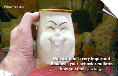 the laughing mug