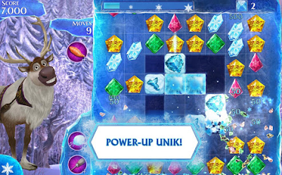 game Frozen Free Fall Mod Apk