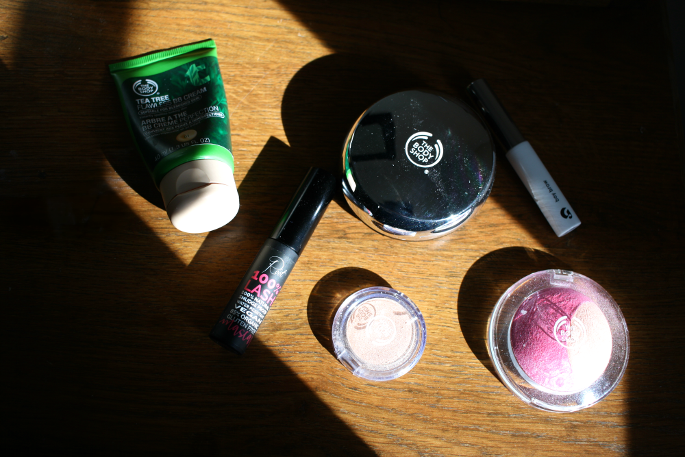 fair trade and natural beauty routine
