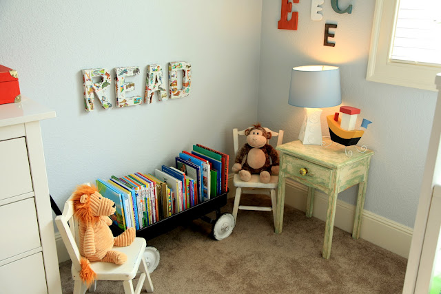 Where To Buy Toddler Table And Chairs Revolving Chair With Backrest Vintage Pretty: {diy} Reading Corner For A