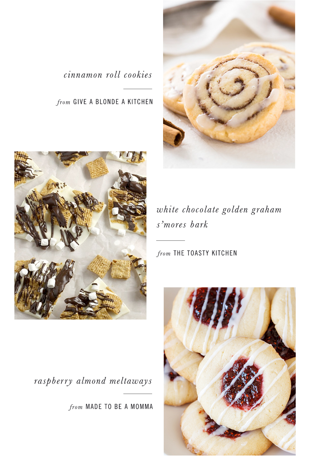 holiday cookie exchange recipe roundup