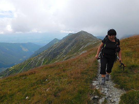 Jakubińska Przełęcz pokryta jest naskalnymi murawami.