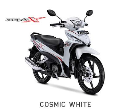 Revo-X Cosmic White 2018 Anisa Naga Mas Motor Klaten Dealer Asli Resmi Astra Honda Motor Klaten Boyolali Solo Jogja Wonogiri Sragen Karanganyar Magelang Jawa Tengah.