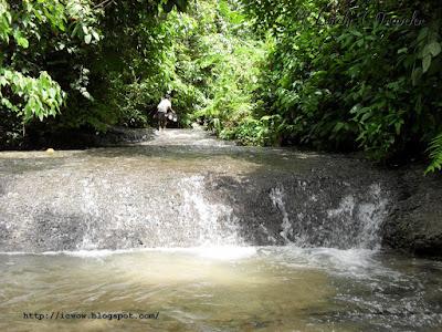 Porikunda waterfall - Moulvibazar