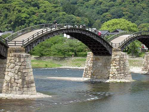 Iwakuni Bridge.