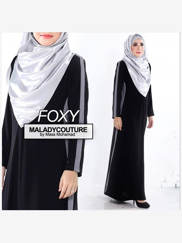 JUBAH DRESS FOXY PLUSSIZE  - SOLD OUT