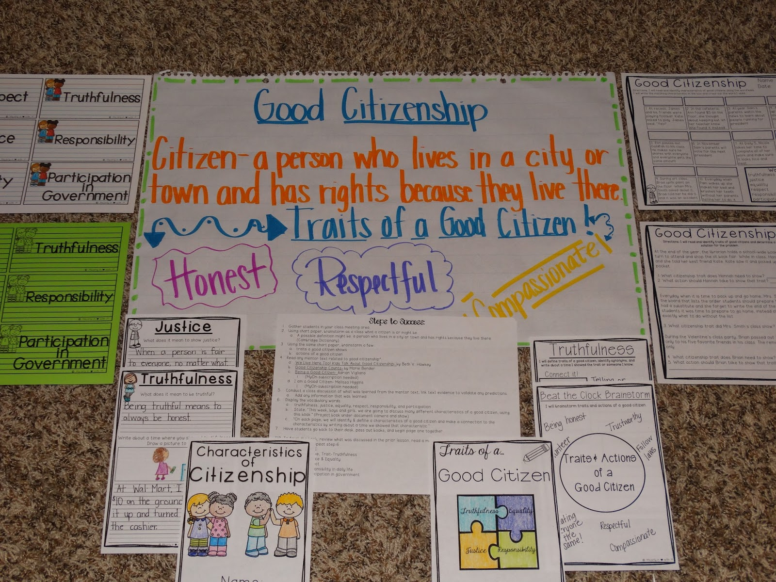 Majorly In Love With First Grade Crazy Good Citizenship