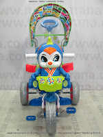 Royal RY17982CJ Baby JacQ Double Music Jumbo Tire Cuschion Seat Baby Tricycle