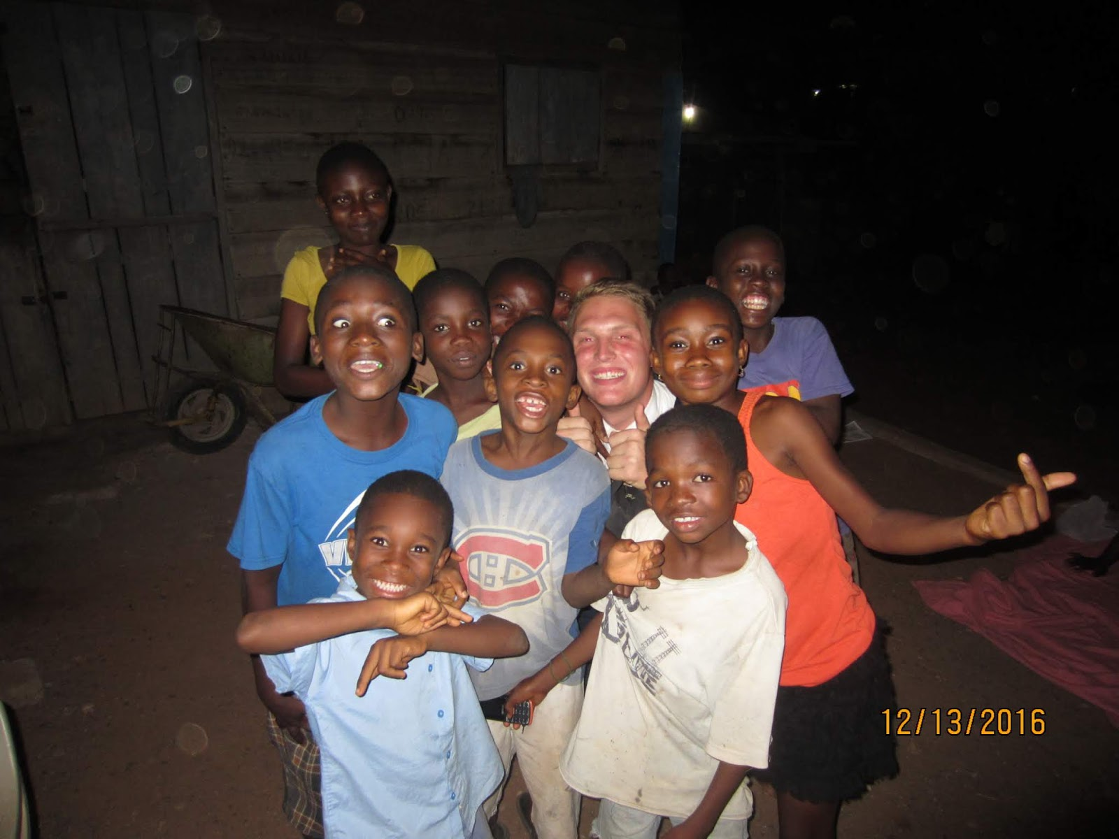 Elder Paulson in the Ghana Accra West Mission