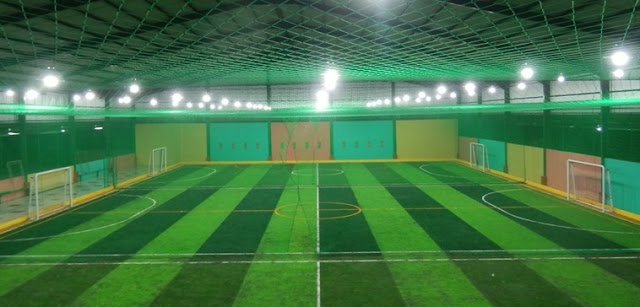 Jenis Lapangan Futsal Rumput Sintetis