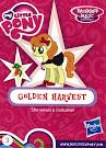My Little Pony Wave 16B Golden Harvest Blind Bag Card