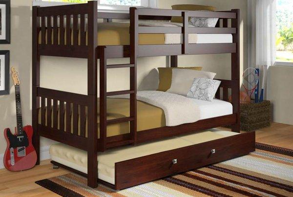 Giường ngủ thông minh, 2 tầng giải pháp cho không gian gia đình bạn